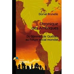 Artelittera_Chronique des Amériques. Du sommet de Québec au Forum social mondial