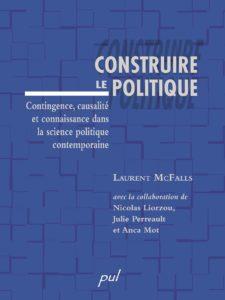 Artelittera_Construire le politique - Presses de l'Université Laval