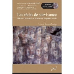 Les récits de survivance. Modalités génériques et structures d'adaptation au réel. : Chapitre 7