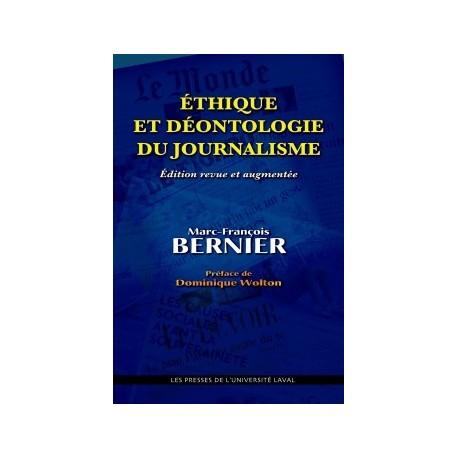 Éthique et déontologie du journalisme, de Marc-François Bernier : Avant-propos