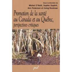 Promotion de la santé au Canada et au Québec, perspectives critiques : Chapitre 10