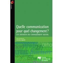 Quelle communication pour quel changement ? / Sous la direction de Ch. Agbobli / CHAPITRE 7