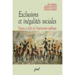 Exclusions et inégalités sociales. Enjeux et défis de l'intervention publique : Sommaire