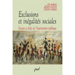 Exclusions et inégalités sociales. Enjeux et défis de l'intervention publique : Chapitre 1