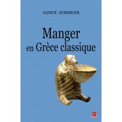 Manger en Grèce classique, de Janick Auberger : Sommaire