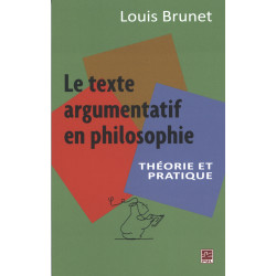 Le texte argumentation en philosophie de Louis Brunet : Chapitre 7