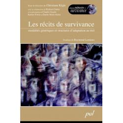 Les récits de survivance. Modalités génériques et structures d'adaptation au réel
