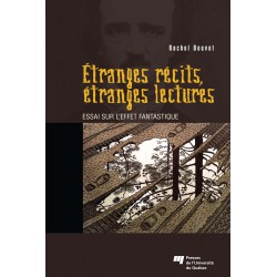 Etranges récits, étranges lectures, de Rachel Bouvet / CHAPITRE 1