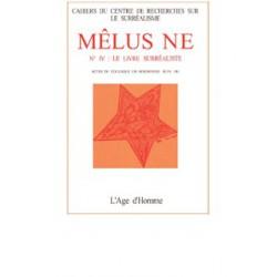 Revue du surréalisme Mélusine numéro 4 : Le livre surréaliste : Chapitre 3