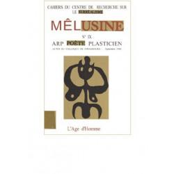 Revue Mélusine numéro 9 : Arp poète et plasticien : Chapitre 10