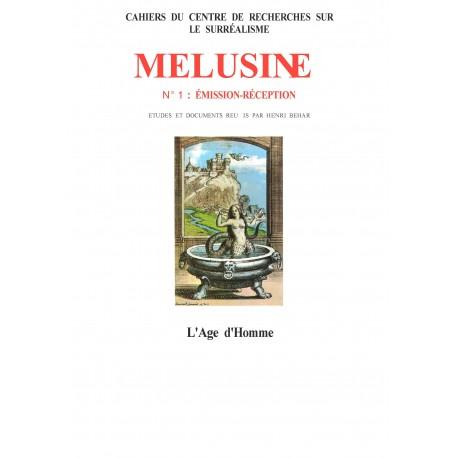 artelittera.com_Revue du Surréalisme Mélusine numéro 1 : Emission - Réception