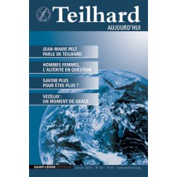 Revue Teilhard de Chardin Aujourd'hui N°44: Article 1