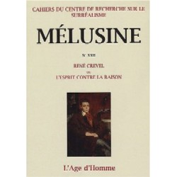 Mélusine 22 : René Crevel ou l'esprit contre la raison / Chapitre 13