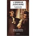 L'Erreur judiciaire sous la direction de Benoît Garnot : Chapitre 1