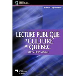 Lecture publique et culture au Québec de Marcel Lajeunesse : Chapitre 10