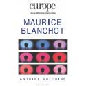 Revue Europe - numéro 940 - 941 Maurice Blanchot : Chapitre 5