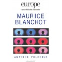 Revue Europe - numéro 940 - 941 Maurice Blanchot : Chapitre 16