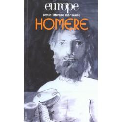 Revue littéraire Europe numéro N° 865 / Mai 2001- Homère : Sommaire