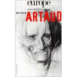 Revue littéraire Europe - Antonin Artaud : Sommaire