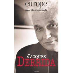 Revue Europe : Jacques Derrida : Chapitre 1