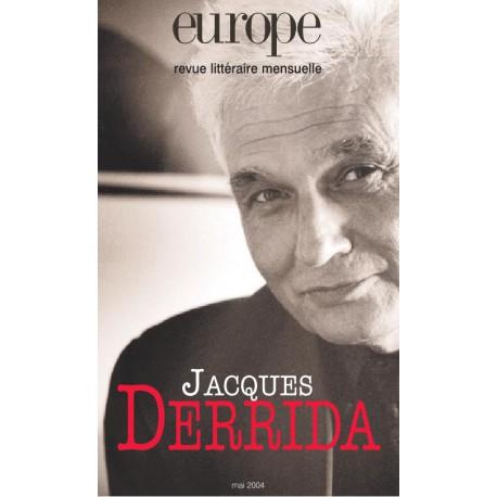 Revue Europe : Jacques Derrida : Sommaire