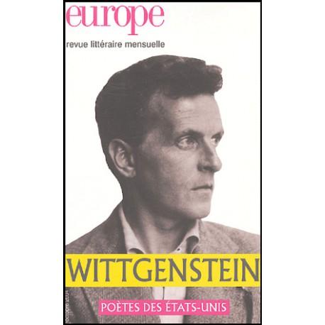 Revue Europe : Wittgenstein : Chapitre 1