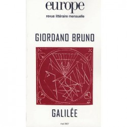 Revue Europe : Giordano Bruno et Galilée : Sommaire