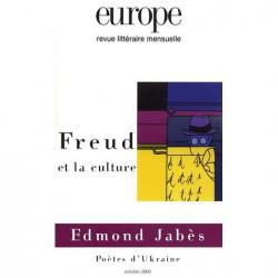 Revue Europe : Freud et la culture : Sommaire