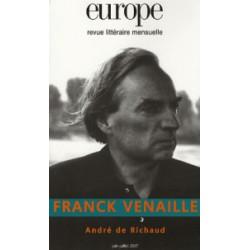 Franck Venaille : Sommaire