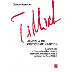 Au-delà du criticisme kantien, de Claude Perrottet : Sommaire