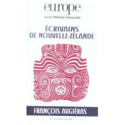 Revue littéraire Europe : Écrivains de Nouvelle-Zélande : Chapitre 1