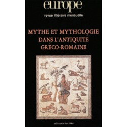 Mythe et mythologie dans l'Antiquité gréco-romaine : Chapitre 8