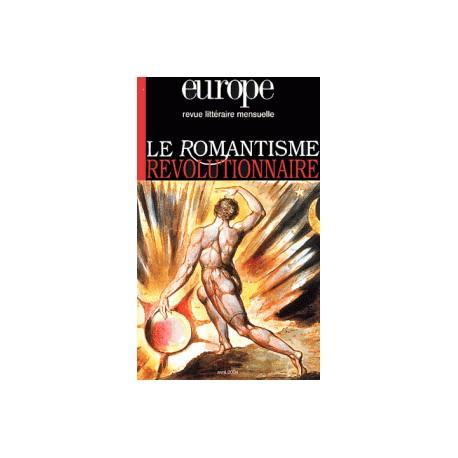 Artelittera.com_Revue littéraire Europe : Le romantisme révolutionnaire