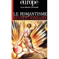 Revue littéraire Europe : Le romantisme révolutionnaire  : Chapitre 13