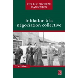 Initiation à la négociation collective