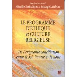 Le programme d'éthique et culture religieuse : Sommaire