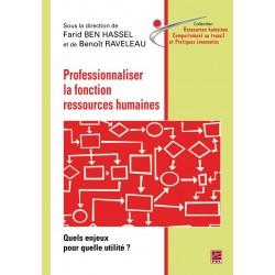 Professionnaliser la fonction ressources humaines : Sommaire
