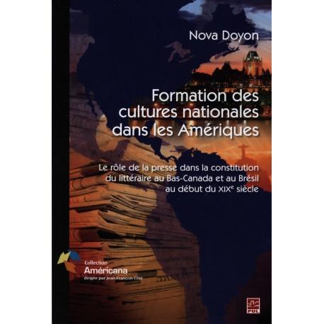 Formations des cultures nationales dans les Amériques, de Nova Doyon sur artelittera.com