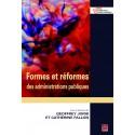 Formes et réformes des administrations publiques, sous la direction de Geoffrey Joris et Christian Devisscher : Sommaire