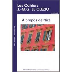 artelittera_ Les cahiers J.-M.G. Le Clézio n°1 : A propos de Nice