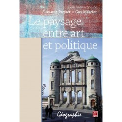Le paysage entre art et politique, de Guy Mercier et Suzanne Paquet sur artelittera.com