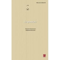 Le Pouvoir, de Niklas Luhmann : Chapitre 1