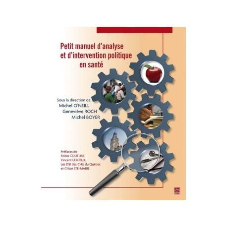 Petit manuel d'analyse et d'intervention politique en santé : Chapitre 11