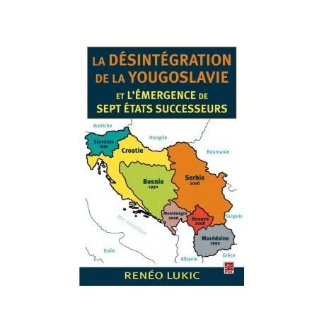 La désintégration de la Yougoslavie et l'émergence de sept États successeurs, de Renéo Lukic : Liste des tableaux